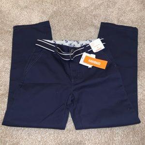 NWT Gymboree Blue Khaki Pants